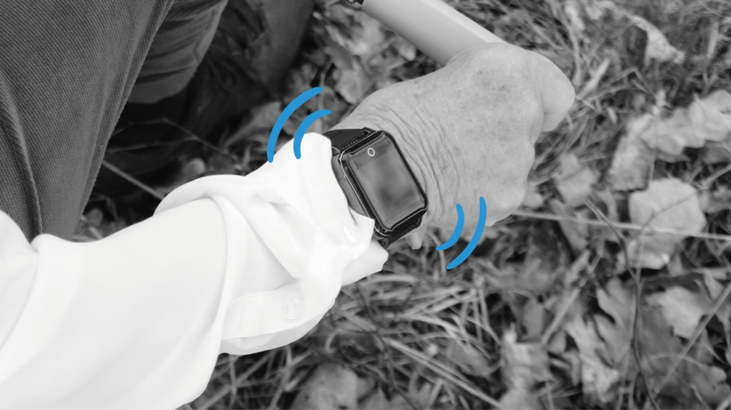 Sensorem trygghetslarm GPS